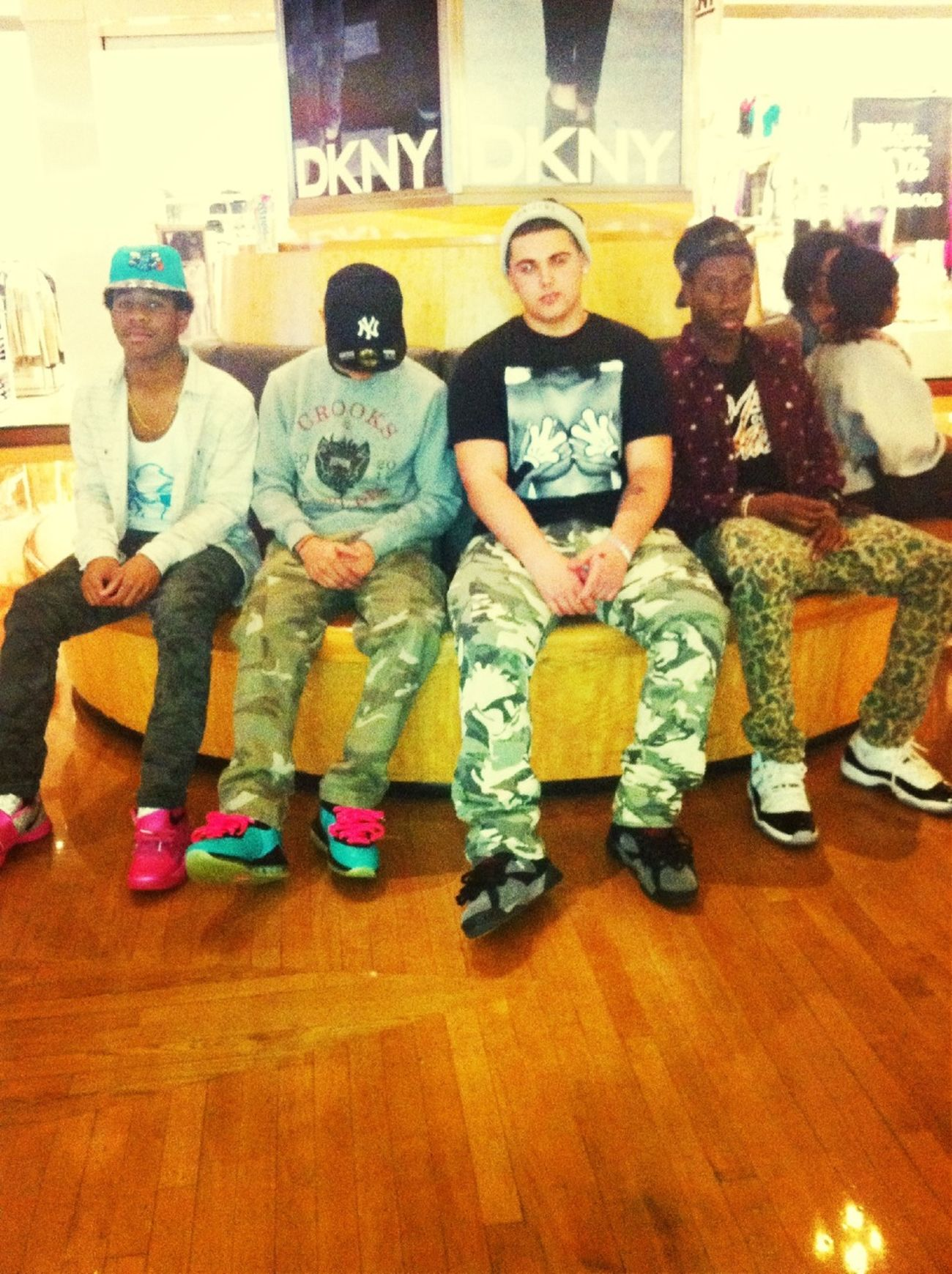 """Last night with the team """"Dopeness"""""""
