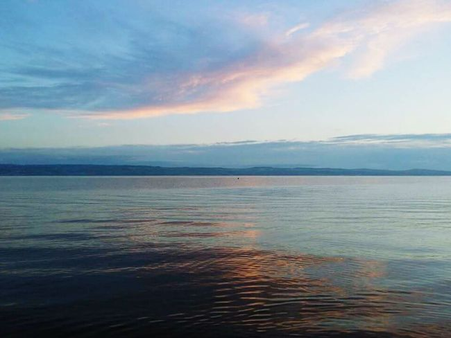 Thursaston Wirral Wirral Peninsula Wirralcountrypark Wirral Way West Kirby UK Scenics Tranquil Scene Sunset Water Tranquility Beauty In Nature Sea Dusk Nature Sky Idyllic Seascape Waterfront Cloud - Sky Blue Pastel Colors Blue And Pink Fresh On Eyeem