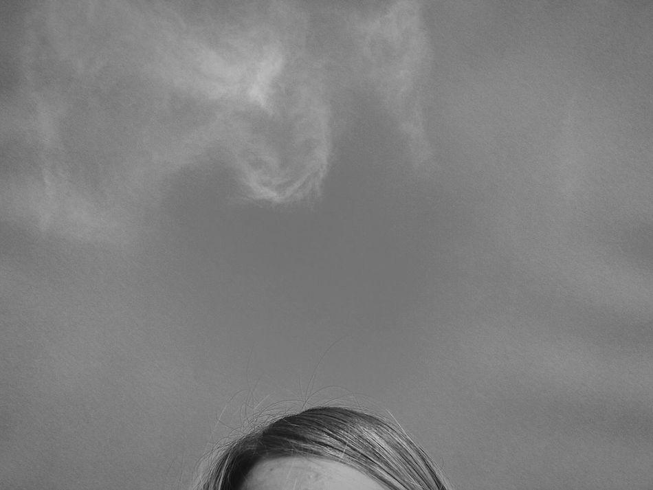 Sky Eyes Portrait