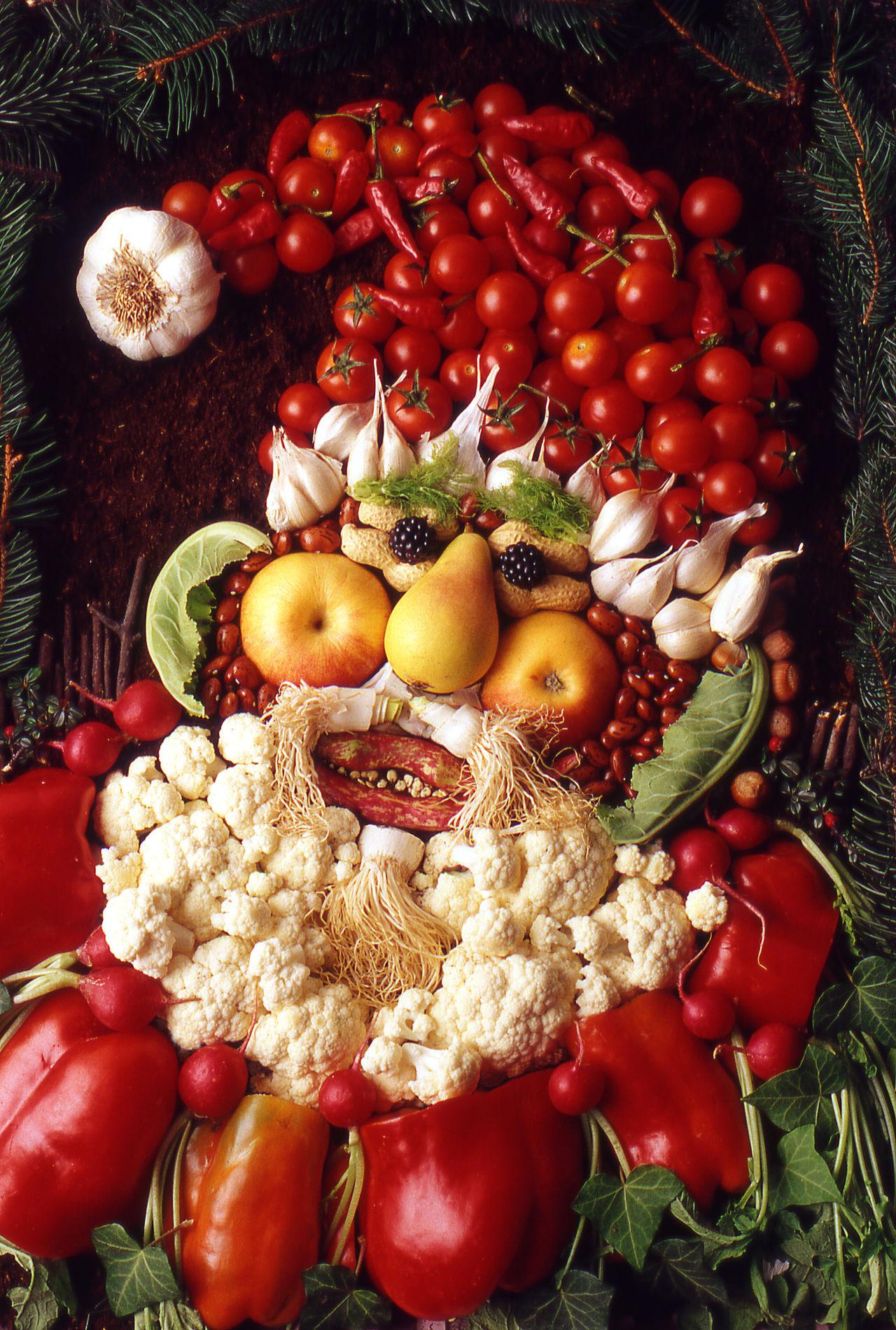 Beautiful stock photos of santa claus,  Anthropomorphic Face,  Arrangement,  Art And Craft,  Cauliflower