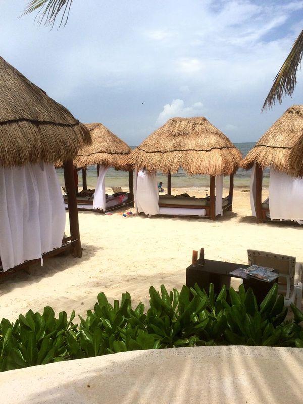 ☀️🐚 Cancun Mexico Throwback Beach Azul Beach 🌊