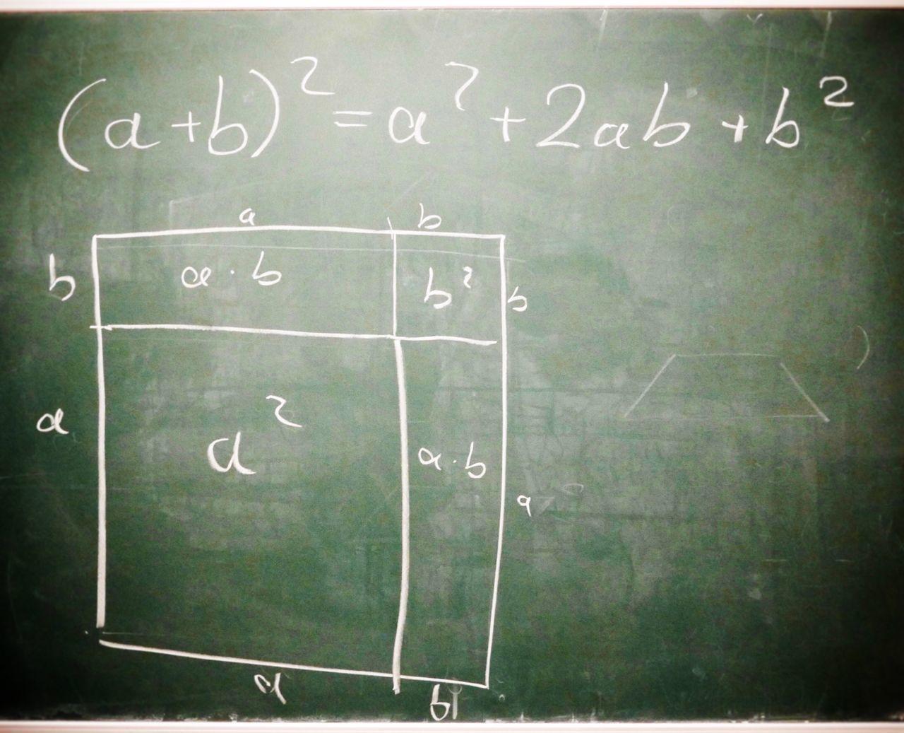 Math formulas Binomic formulas Math Mathematics Maths Binomic Formula Calculation Mathe Education School Learning Educational Education First ! Education Schule Blackboard  Tafel Learning