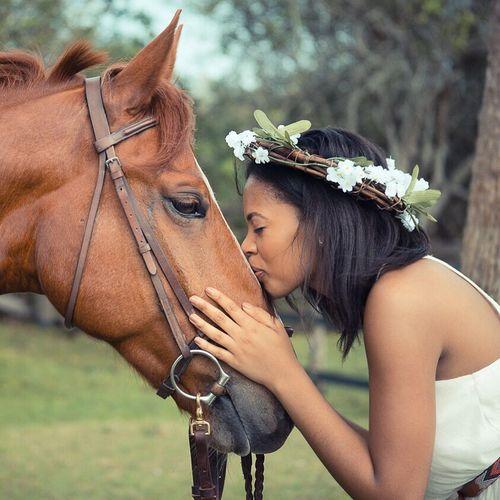 Horses Portrait Portrait Of A Friend Queen Flowers Floral Kiss Kisses Lights