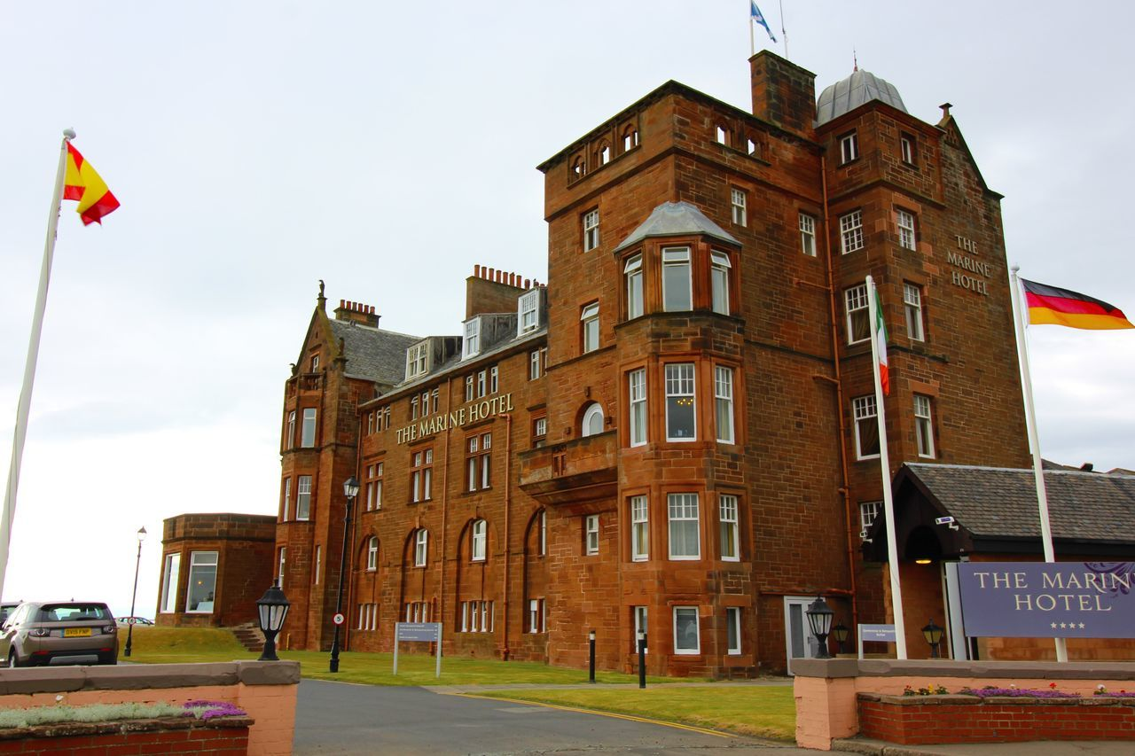Architecture Building Building Exterior Built Structure City City Life Cloud Cloud - Sky Day Exterior Façade Golf Low Angle View No People Open Golf Championship Outdoors Red Sky Troon Wide Angle Ayrshire, Scotland Troon The Open