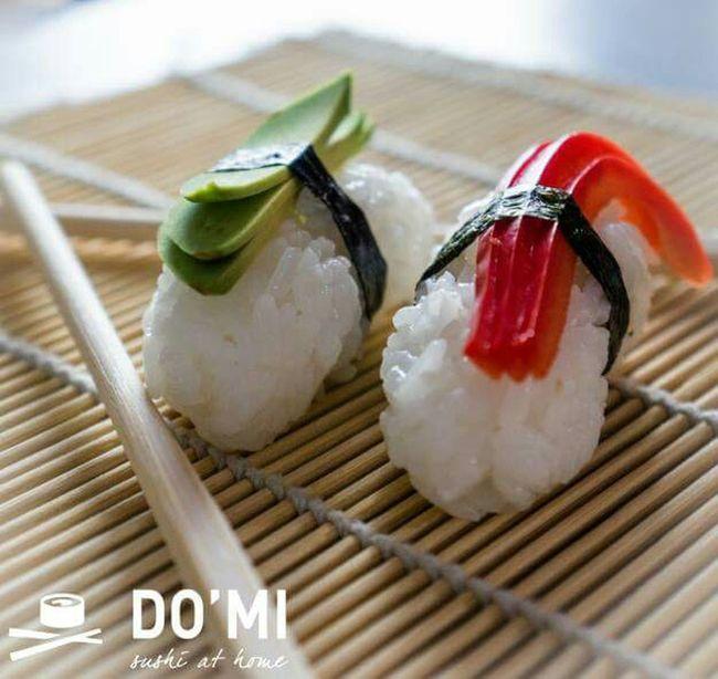 Nigiri Sushi Sushi Time Sushi Sushi Lover Sushi Vege Vegetarian Food Hello World Www.sushidomi.com Sushi At Home More: www.sushidomi.com/nigiri
