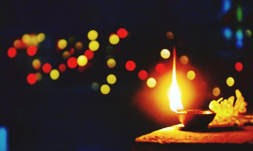 Dashain and Tihar is up ahead... Happy dashain to all nepalese... may godess durga keep u safe... Illuminated Burning Flame Night Lighting Equipment Heat - Temperature No People Defocused Close-up Indoors  Diya - Oil Lamp Oil Lamp First Eyeem Photo