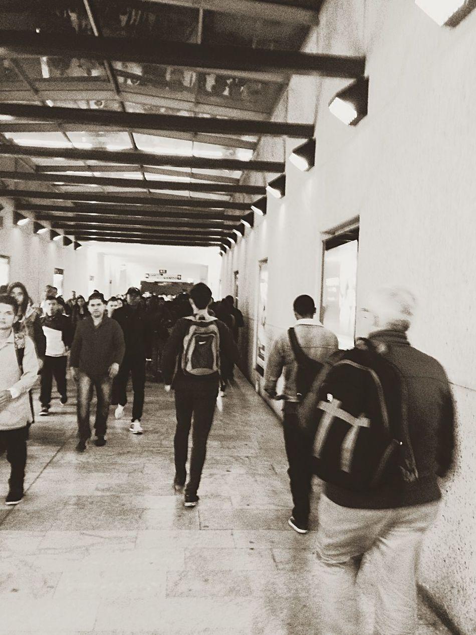 People Running Late Hating Public Transportation Subwayphotography