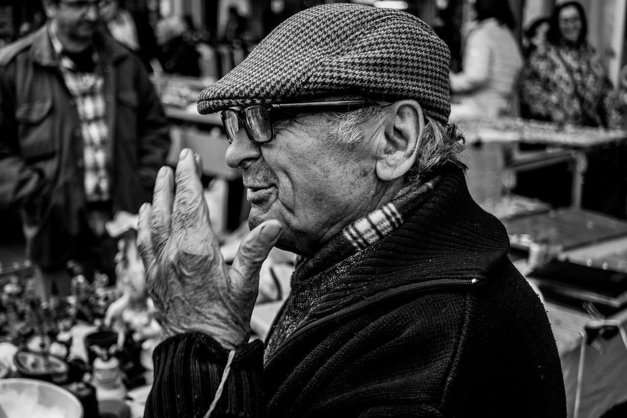 Portrait People Flat Cap One Person Street Fragments Of Life Things I See
