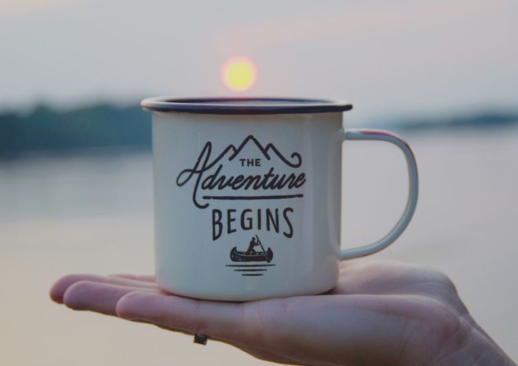Enjoying Life Life Photography Coffee ☕ Cup Sunset #sun #clouds #skylovers #sky #nature #beautifulinnature #naturalbeauty #photography #landscape Theworldrace