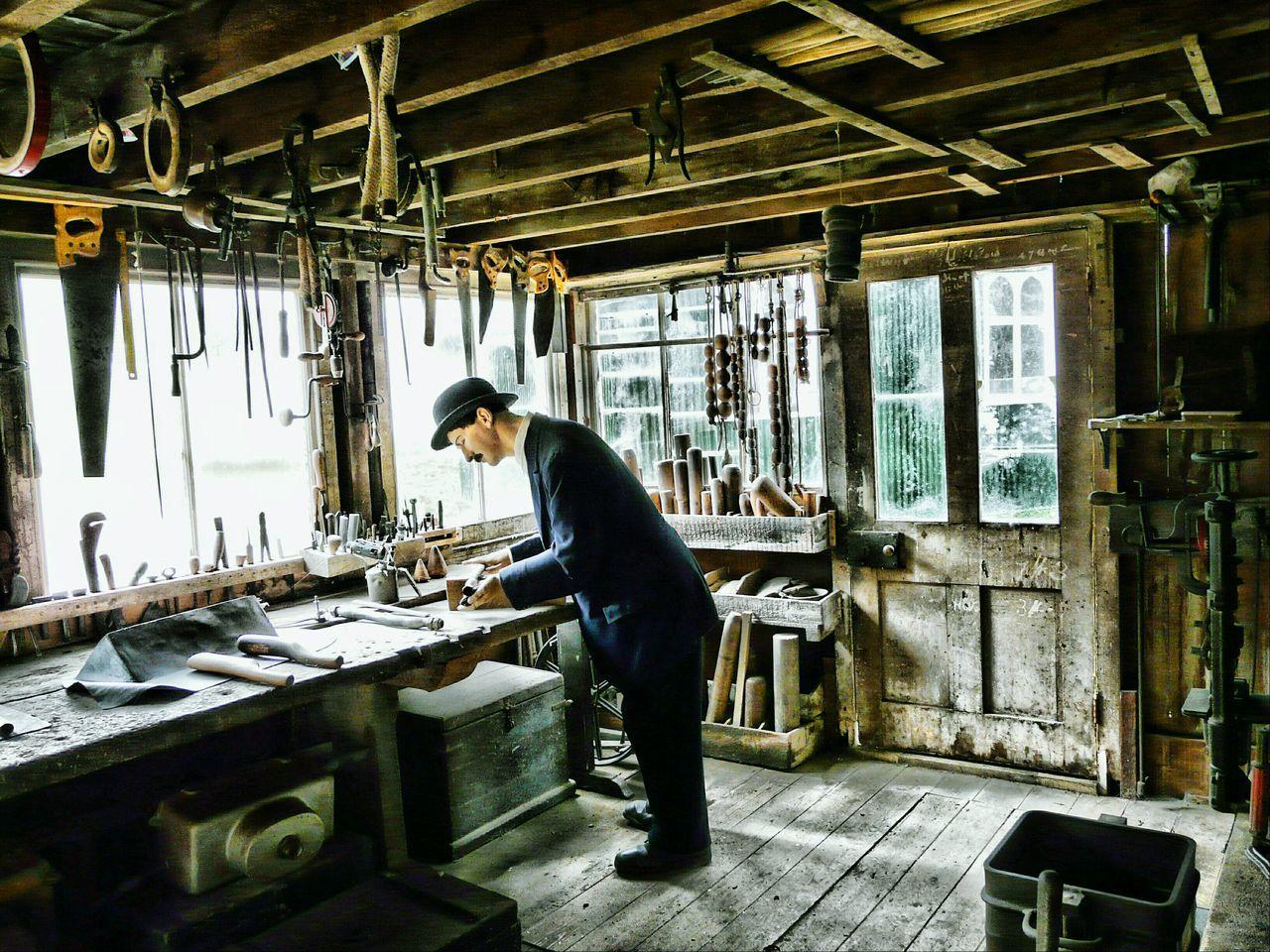 Folk Museum Lead Working Plumbers Work Shop HDR Editing Summer Memories