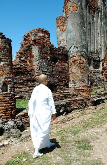 Humble living Calm Caring Devout Nuns Peaceful Preach Religion Ruins Temple - Building Transcience Warm
