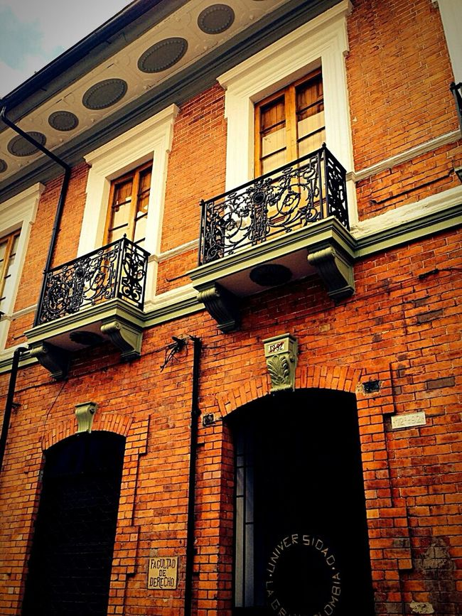 Travel Photography Feel The Journey Travel Afar Colorful Colombia City Downtown Town Windows Architecture Detail Desigh Brick
