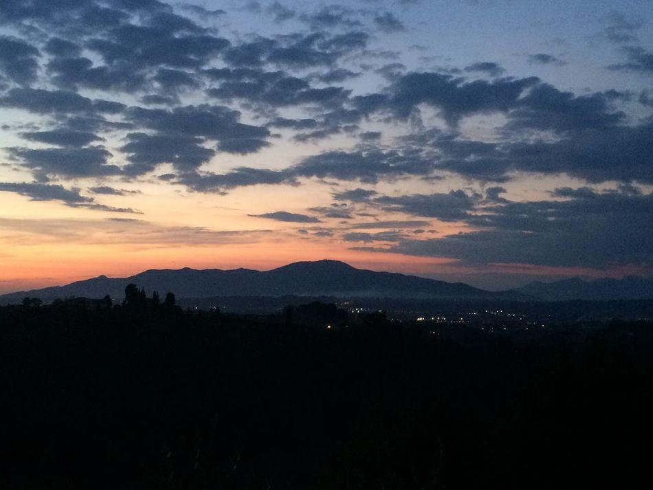 Sunset Mountain monte serra