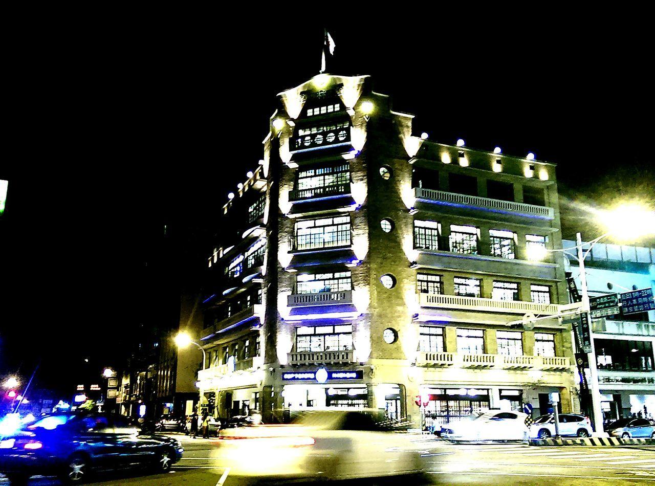 Building Exterior City Life Modern Tower City Night 林百貨 臺南 Overnight Success
