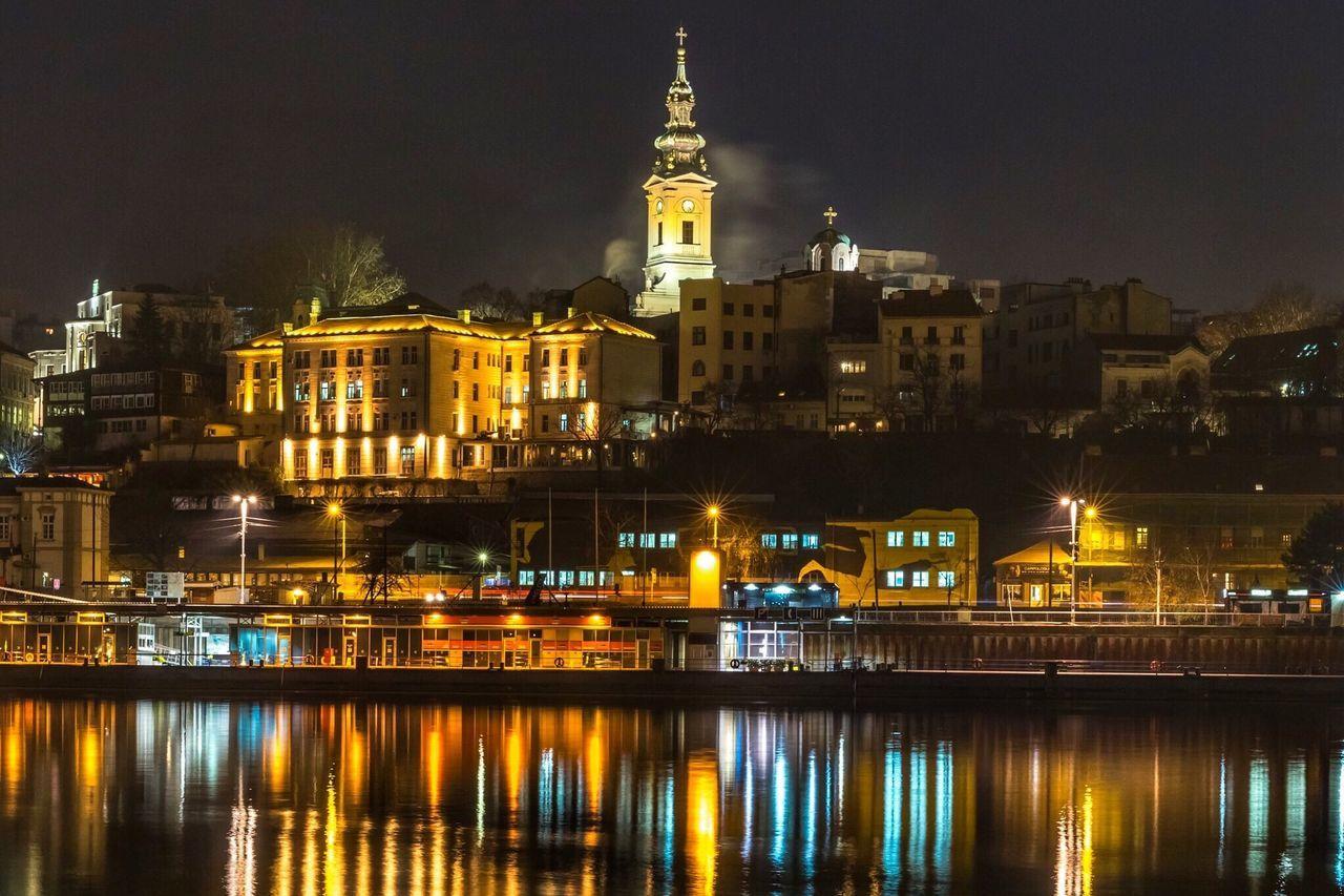The City Light Sabornacrkva Kalemegdan  Beograd