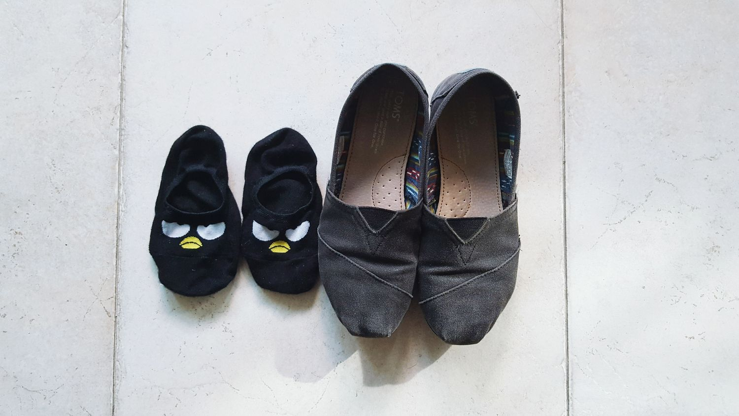 Shoe Pair High Angle View Still Life Footwear Variation Canvas Shoe In Front Of Choice Memories No People Colour And Patterns