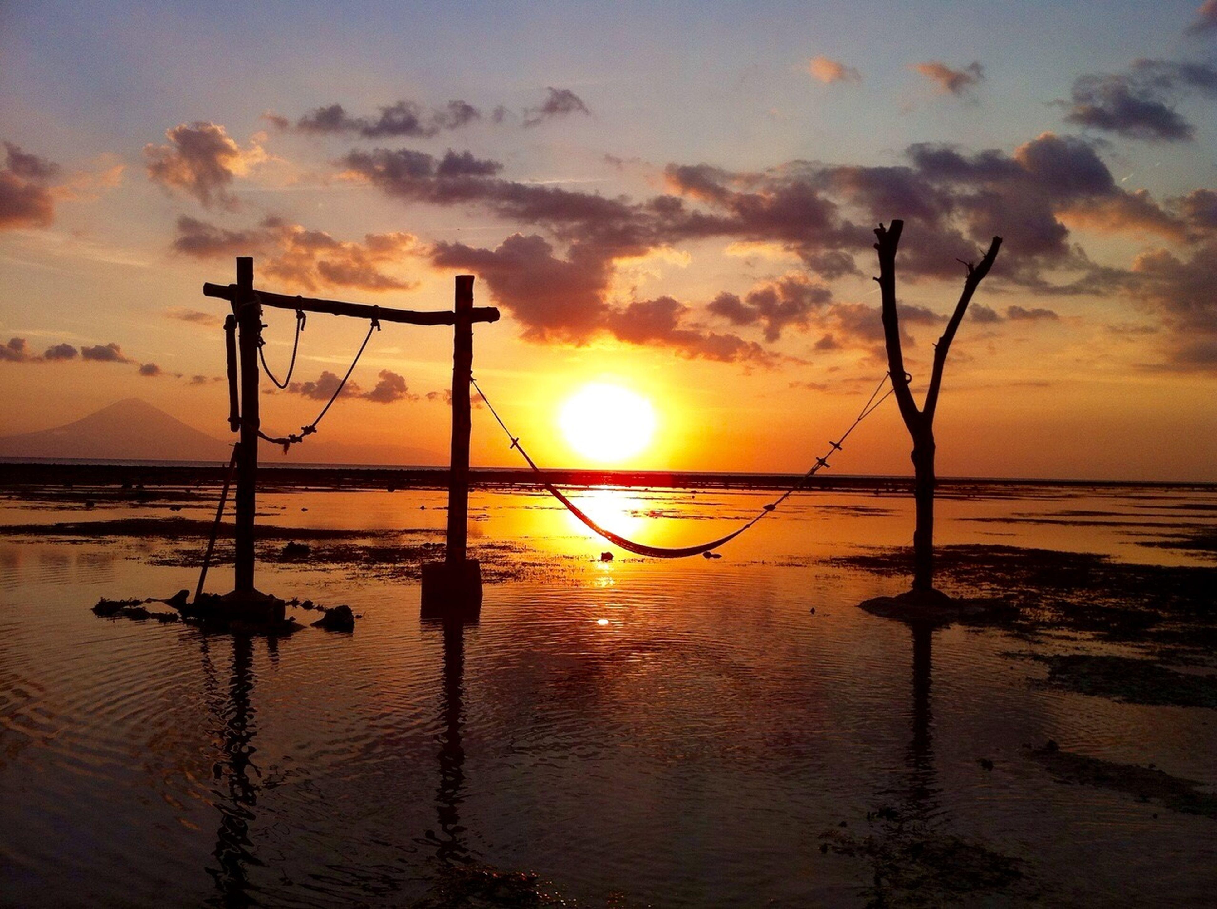 Bali Sunrise_sunsets_aroundworld Traveling Beautiful Landscape Sky Collection Reflection