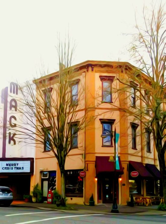 Building Exterior Architecture Built Structure Clear Sky City No People Façade Outdoors Bare Tree Tree Day Sky Artistic Perception For The Love Of Art My Year My View EyeEm Best Shots EyeEm Gallery Residential Building Reflection_collection Oregon Explored Original Photography Oregon Girl EyeEm Masterclass Eyeem Everywhere Architecture