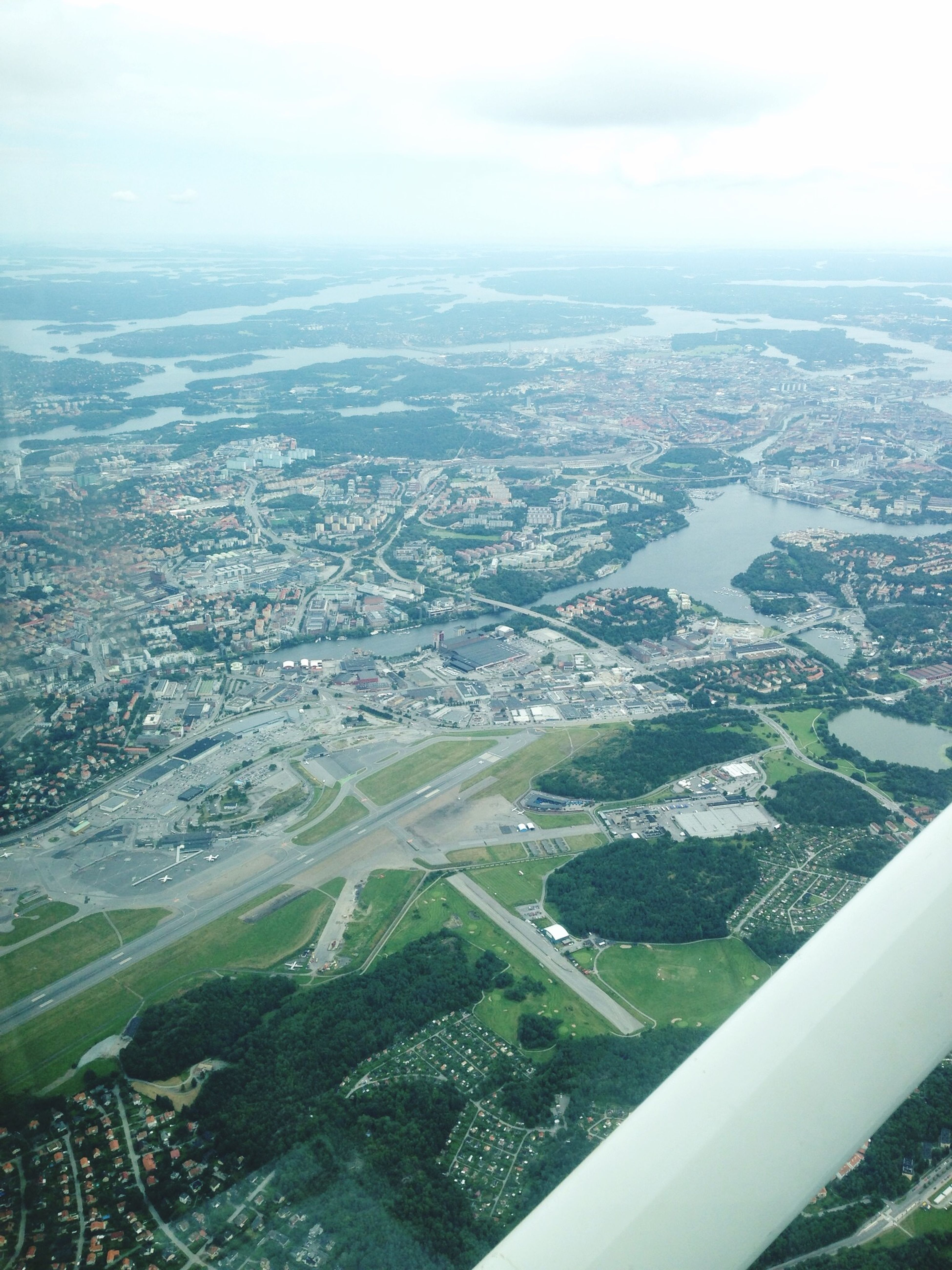 Bromme Airport