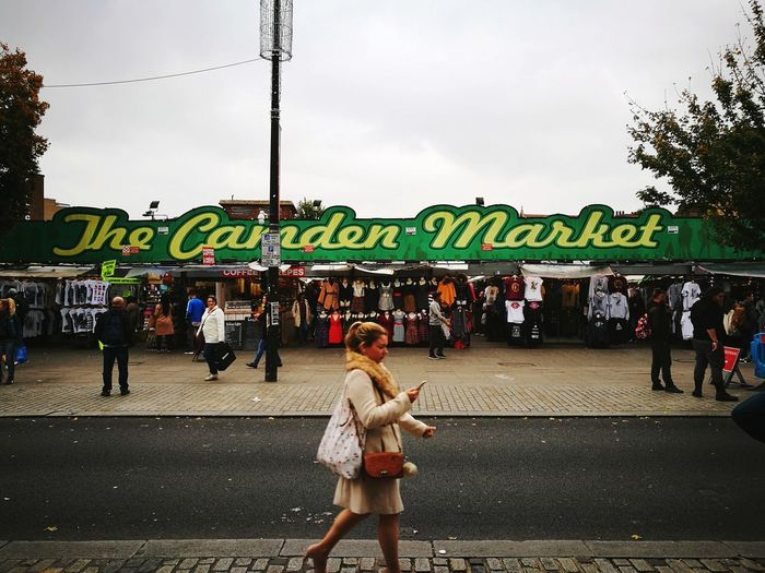 Market. Arts Culture And Entertainment Day City People Adult Outdoors Large Group Of People Adults Only Sky Young Adult Camdenmarket Camden Camden Town Camden Market, London Street City Life City Street London London Lifestyle Cityscape Multi Colored Business Finance And Industry