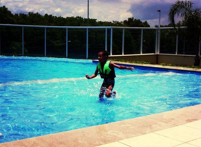 Enjoying Life Pool Kids Condomínio La Vita