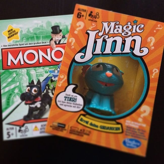 Oh, analog hat die Woche begonnen und genauso gehts am zweiten Tag weiter #iLike #Spiele #Kinder #Hasbro #Monopoly #MagicJinn #Katze #Kids - bald schon mehr dazu auf http://www.pokipsie.ch/category/spiele/analog-spiele/ zu lesen Kids Katze Monopoly Kinder Ilike Hasbro Spiele Magicjinn