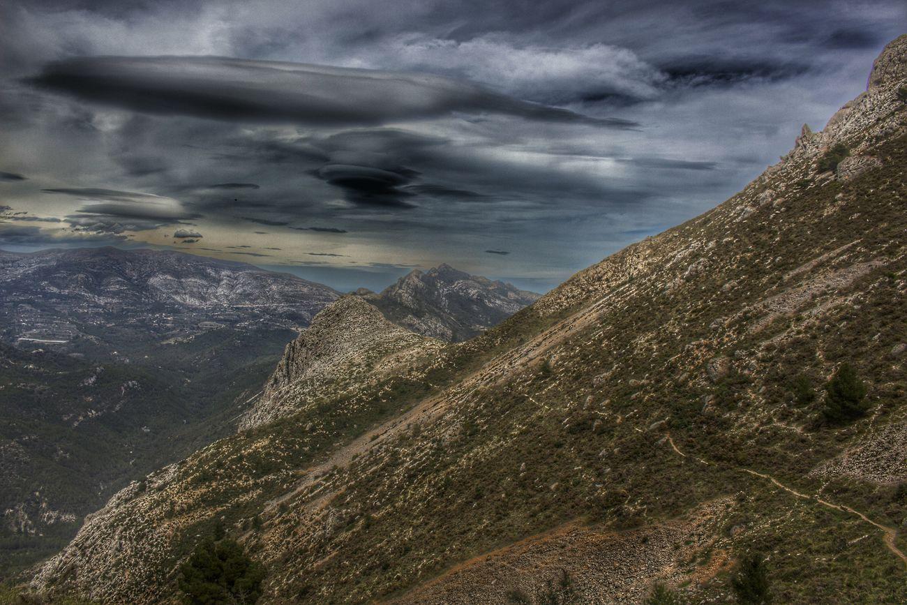 Mountains Benissa Costablanca Sky Cielo Y Nubes  Cielo Hello World Bernia Altura Montañas❤