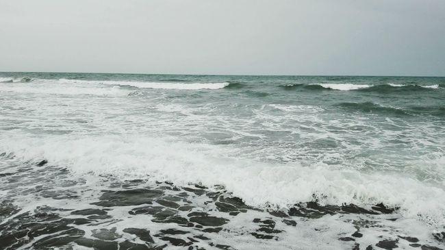 Sea Sea And Sky Beach Nature Sky Water SPAIN España Waves Seaside