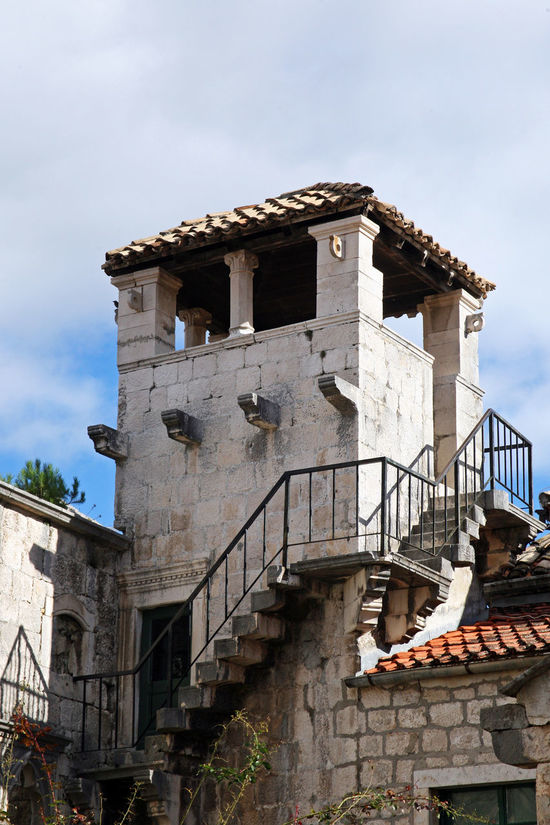 Korcula,details by autumn,Marco Polo's house,Adriatic coast,Croatia,Europe,3 Day No People Outdoors Peljesac