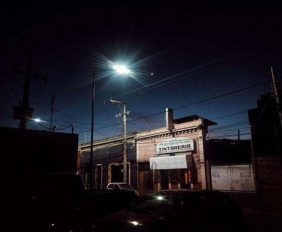 Night Illuminated Communication Street Light Transportation City No People