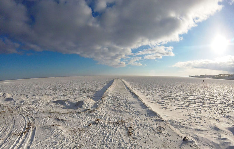 Winter landscape with frozen dunes, beach and sea in Nida, Lithuania, Baltic Sea Baltic Baltic Sea Dunes Frozen Frozen Sea Holiday Ice Lithuania Nida City Nida Lithuania Travel Winter Beauty In Nature Cold Temperature Coldness Frozen Each Ice Cream Nature Nida Outdoors Scenics Sea Sky Snow Tranquility