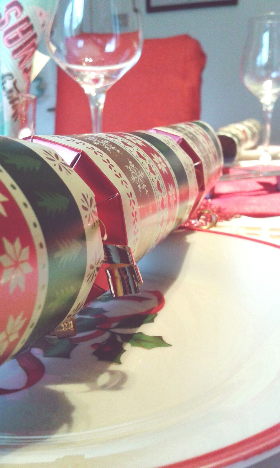 My Winter Favorites Christmastime Christmas Spirit Christmas Is Coming Christmascrackers Dinnertable Glasses Wine Wintertime Winter Wonderland Showcase: December