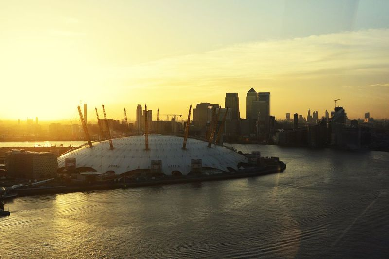 View Of The O2 From The Emirates Airline