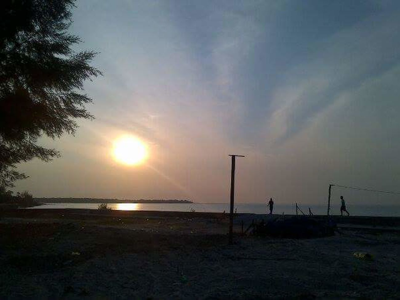 Rupatisland beach Sunset