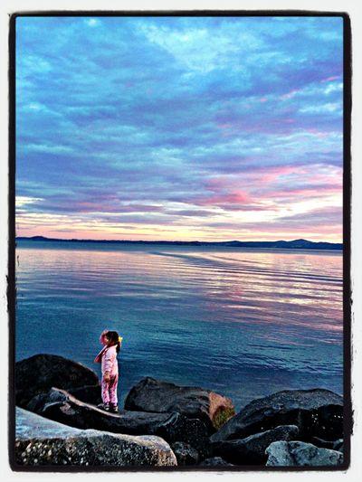Enjoying Life Sunset Silhouettes Sunset Colors