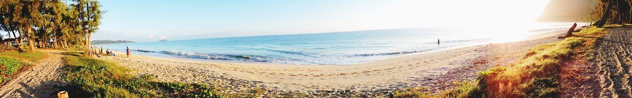 Beautiful stock photos of sonnenaufgang, Beach, Beauty In Nature, Calm, Clear Sky
