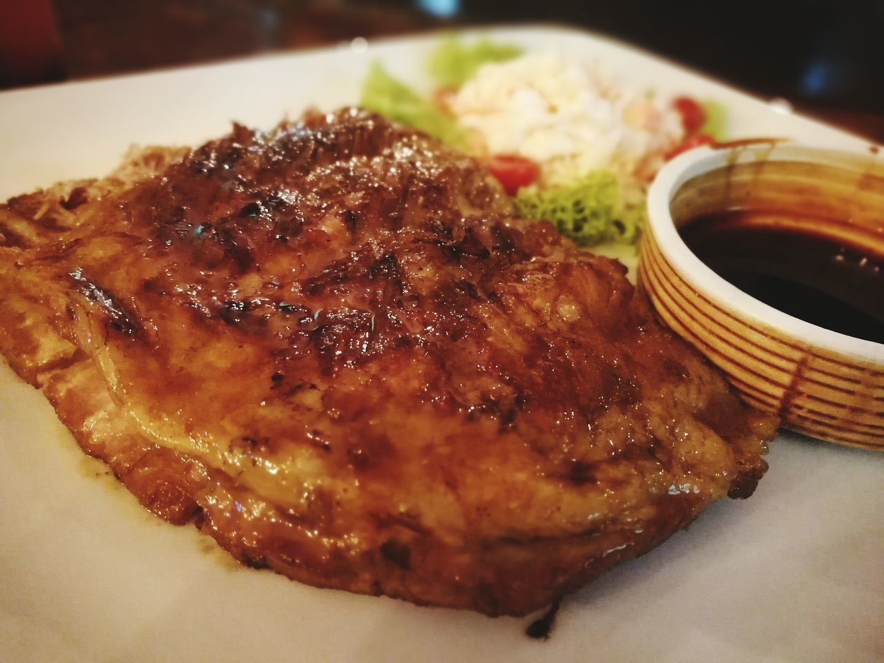food and drink, food, freshness, meat, serving size, ready-to-eat, indoors, meal, close-up, healthy eating, no people, plate, fried chicken, rib, pork