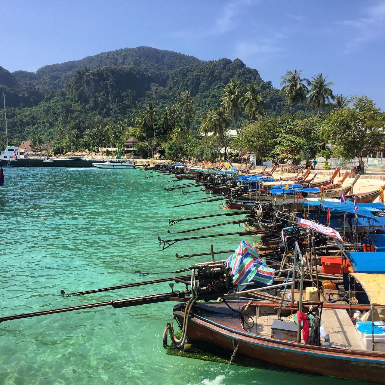 Thailand Kohphiphi Island Boat