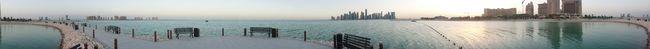 Intercontinental Doha Panoramic Beachphotography Doha#City#❤