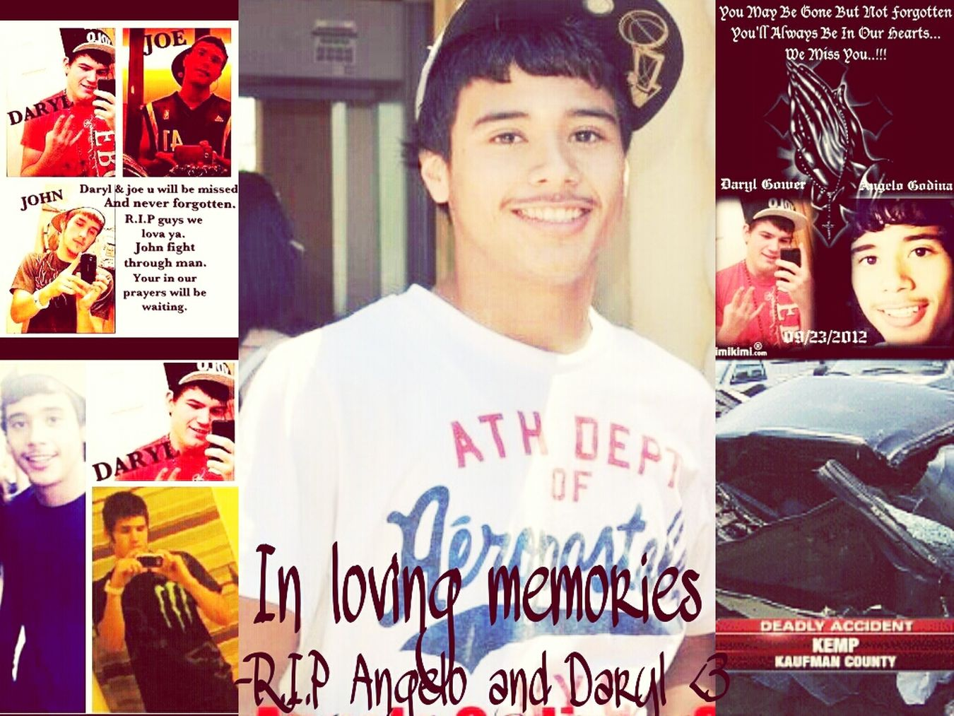 R.I.P Angelo , I love you primo always and forever fly high boiy ! <3