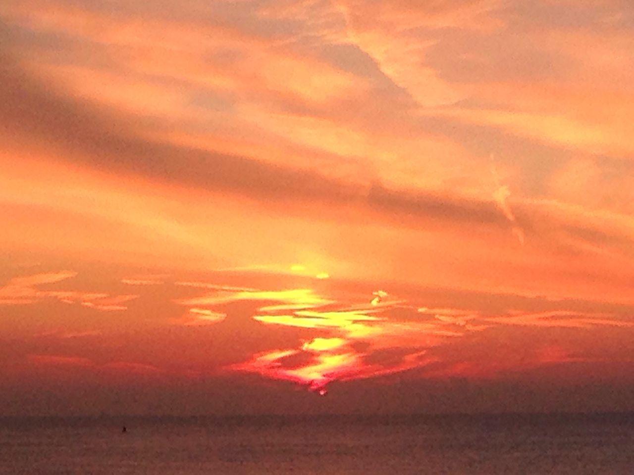 Sun set Scheveningen