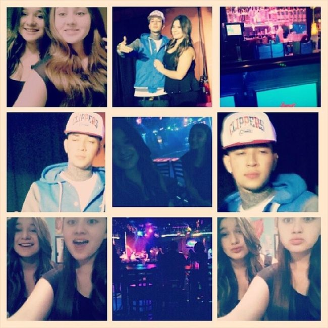 Had so much fun @flacaa_96 18th birthday!! Happy birthday you looked so pretty♡.. Thanks for inviting me(: It was so cool getting to see baeza♥!!! Txnightclub Baeza