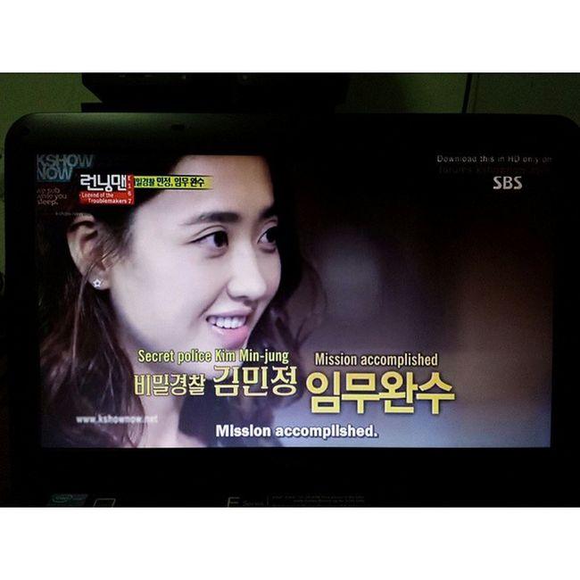 Wa 그녀 대박 sia! Won Running Man ripping nametags twice! And it is always ripping Jongkook's nametag. KimMinJung Runningman 167