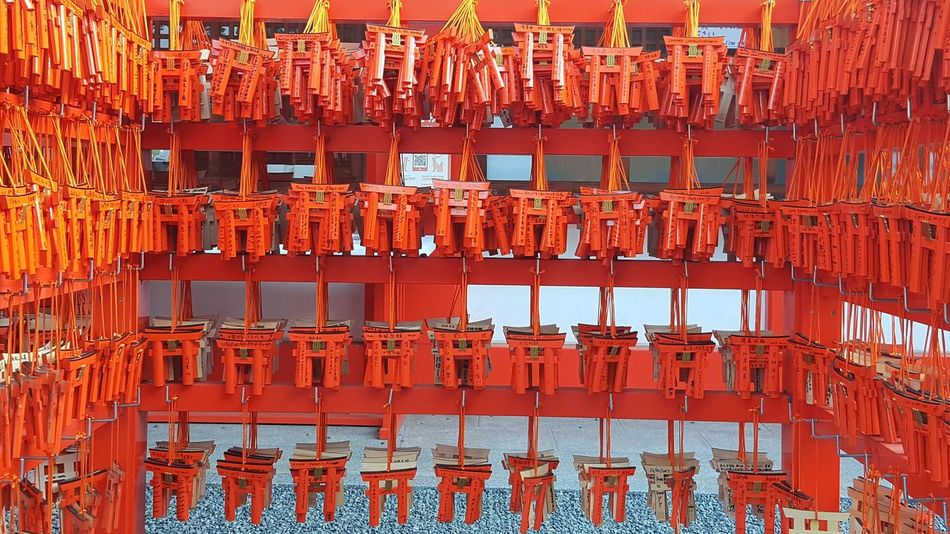 Full Frame Backgrounds Red Day No People Outdoors Japan Kyoto Japan Kyoto,japan Kyoto City Sacred Places Temple Shrine Shrine Of Japan Shrines & Temples Fushimi Inari Shrine Fushimi Inari Kyoto Fushimi Inari Taisha Fushimi Ko Kyoto
