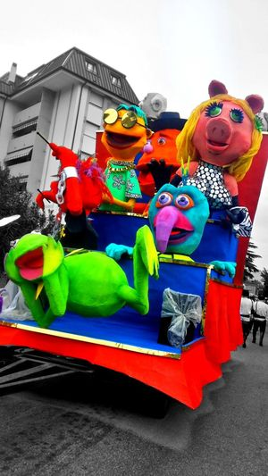 Friends Carnival Muja Smile 2016 Carnival2016 Colors Of Carnival Carnevaldemuja63 Eyemphotography Photocamera Photo Open Edit EyeEm Trieste Trottola Company Muppets