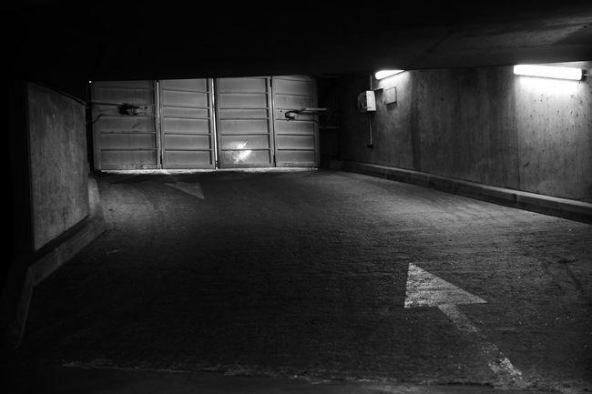 Architecture Ausfahrt Dark Day No People Parkhaus Parking S/w The Way Forward