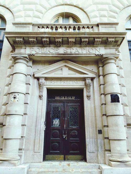 First Precinct Entrance Door Architecture History New York City Mobile Photography Precinct