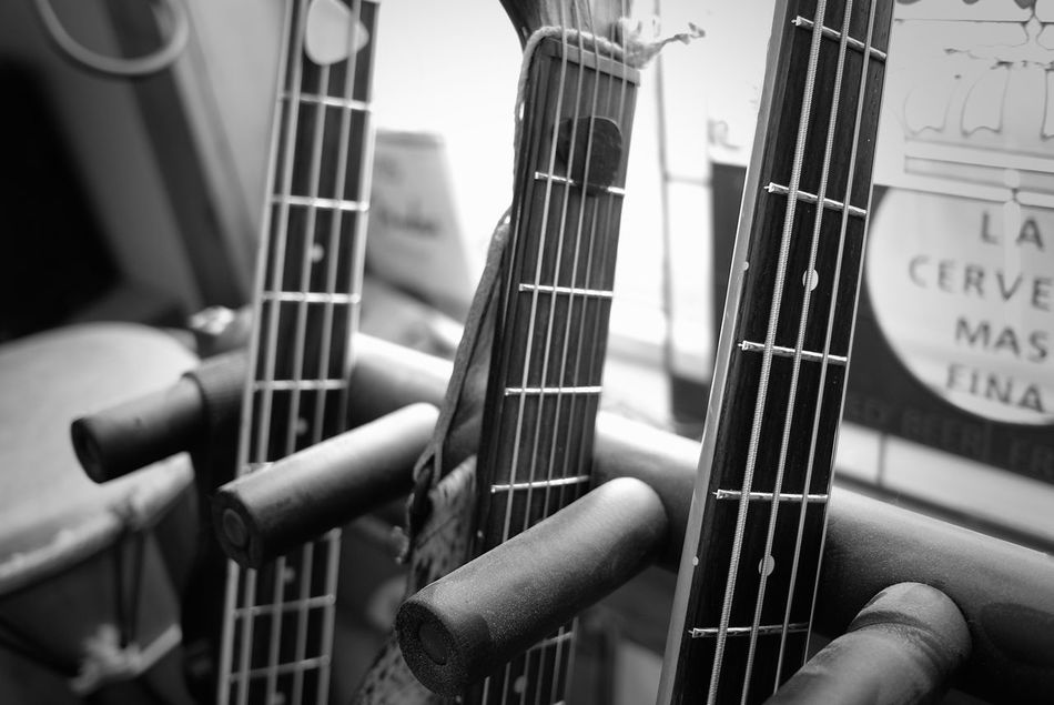 Black And White Guitar Rack Guitars Instruments Leicacamera Music Music Gear Musical Instruments