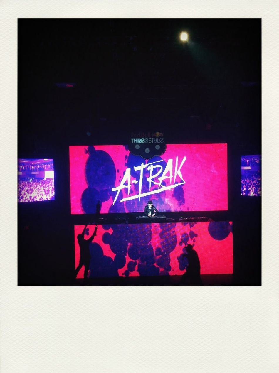 DJ A-Trak killin' it at Stereo Live last night in Houston, TX for Red Bull's Thre3Style Massive. #rb3style