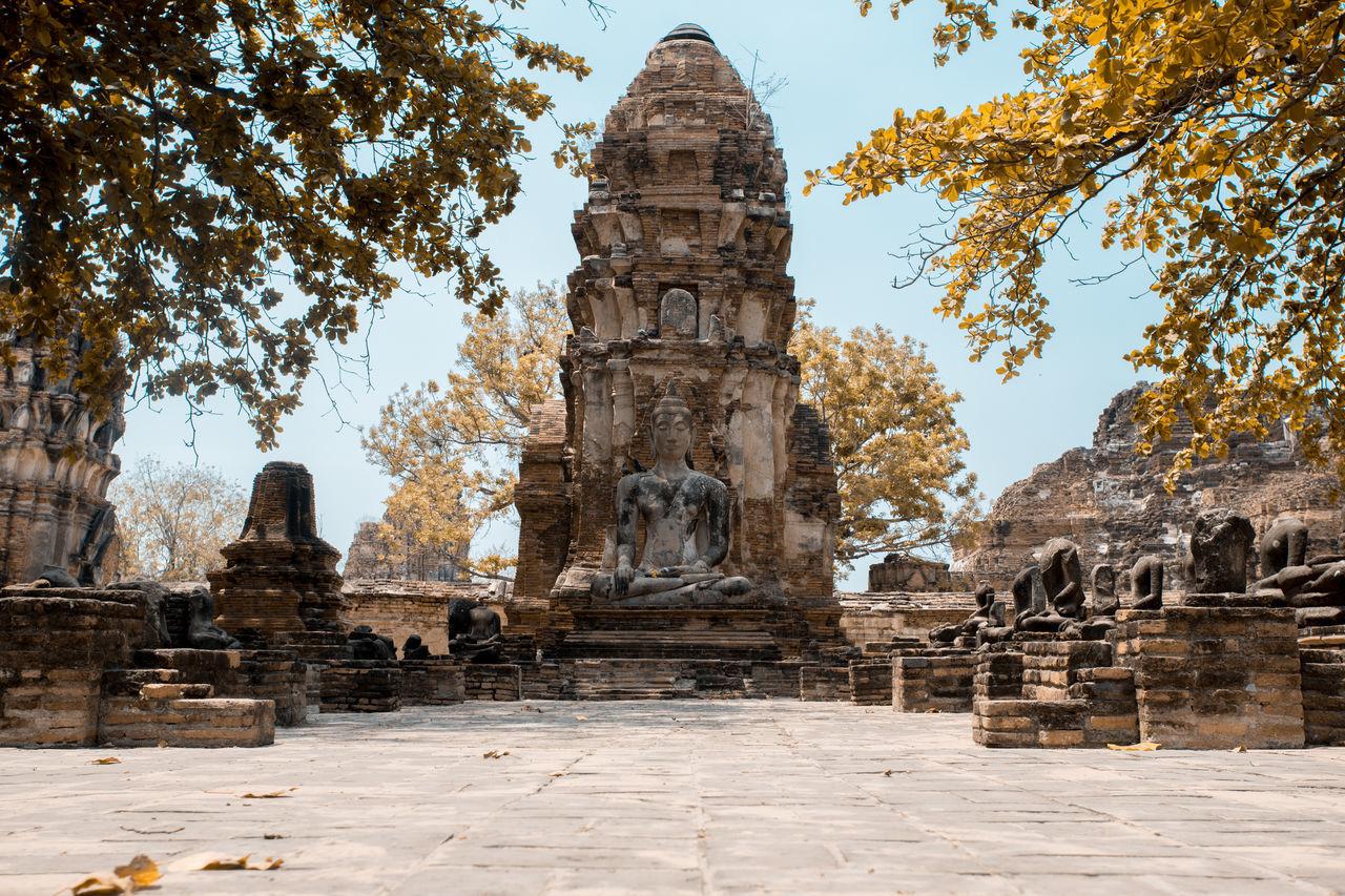 Architecture Built Structure History Building Exterior Tower The Past Ruined Old Ruin Façade Ancient Travel Destinations Ancient Civilization Tourism Thaïlande
